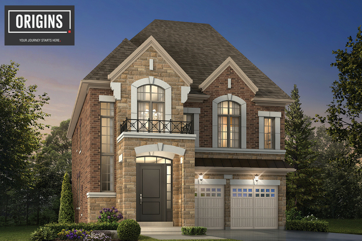 Detached Homes in Origins Brampton, OPUS Homes