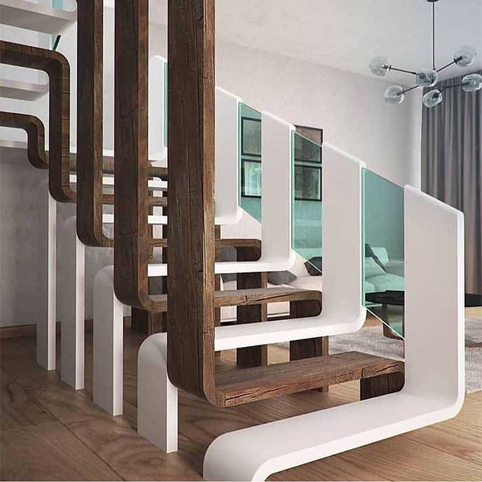 40 Amazing Staircases Details That Will Inspire You: 2019 STAIRCASE TRENDS