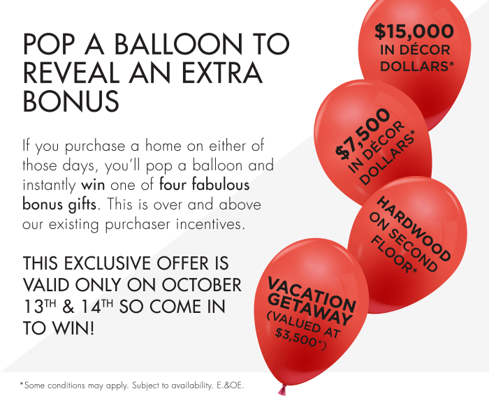 This Exclusive Offer Is Valid Only On October 13th & 14th So Come In To Win!