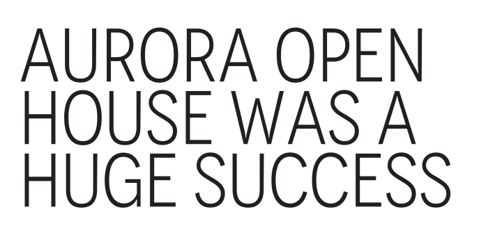 Many families toured our two fully finished homes in Aurora during our open house. These homes include up to $95,000 in extra value to the lucky purchaser that buys and moves in within 30/60/90 days.