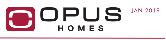 OPUS Homes - January 2019