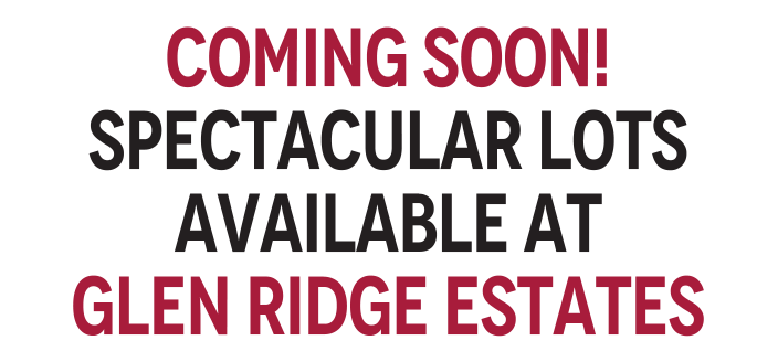 Something this spectacular doesn't come along often! With a select few estate lots remaining, Glen Ridge offers the ultimate in home design and value, paying homage to the principles of Feng Shui.