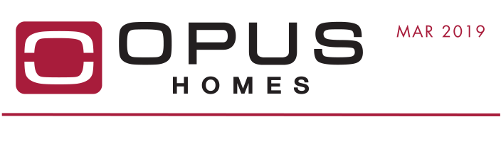 OPUS Homes - March 2019