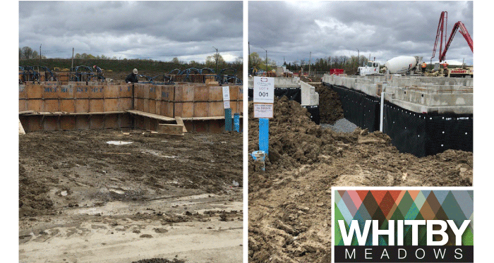 Construction has begun at Whitby Meadows and we are thrilled to see our community coming to life.
