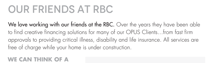 We can think of a few more reasons you might want to speak with Robert or Stella from RBC.