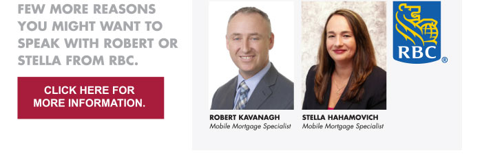 Robert Kavanagh Mobile Mortgage Specialist   Stella Hahamovich  Mobile Mortgage Specialist  Click Here For More Information.