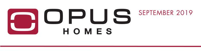 OPUS Homes - September 2019