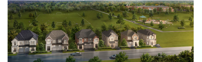 Brampton… the homes you've been waiting for are coming your way! Opening October 5th at 11:00am will be your opportunity to purchase a limited number of 41' Detached homes from the low $1M's and Double Car Garage Townhomes from the mid $600's.