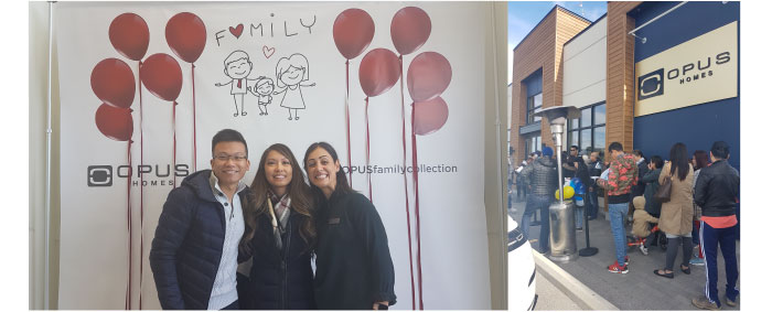 We had so much fun this past weekend welcoming new homebuyers to the OPUS family at our new Family Collection launch of Towns, Semis, and 36' & 43' Detached homes in Richmond Hill. Our sales office is now open; come see why so many have chosen OPUS for their family to call home.  All Modern Designs, Built for Families in mind.