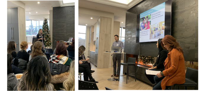 This month we were proud to host a BILD (Building Industry & Land Development Association) event at our new Décor Studio. As chair of BILD's Design/Décor Manager's Committee, our very own Kimberly Bianchi hosted over 30 industry professionals from across the GTA at this month's event.