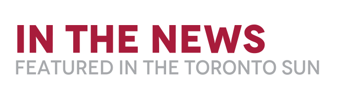 In The News - Featured in the Toronto Sun