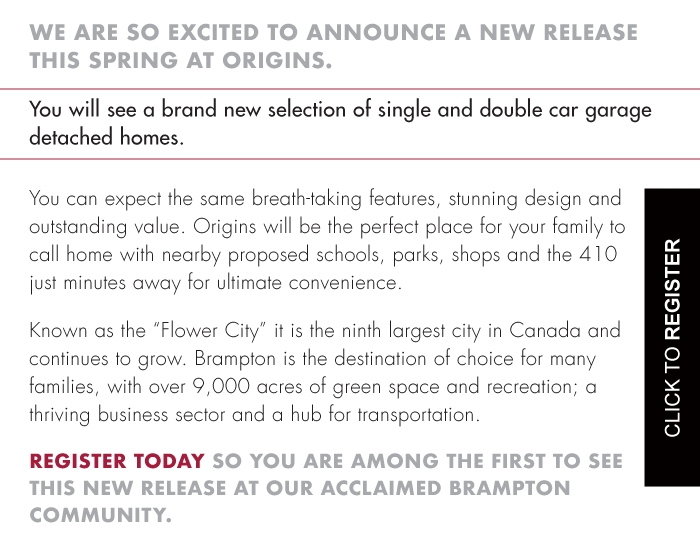 """Known as the """"Flower City"""" it is the ninth largest city in Canada and continues to grow. Brampton is the destination of choice for many families, with over 9,000 acres of green space and recreation; a thriving business sector and a hub for transportation."""