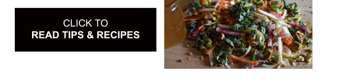 Click To Read Tips & Recipes
