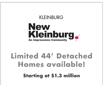 KLEINBURG New Kleinburg Limited 44' Detached Homes available!