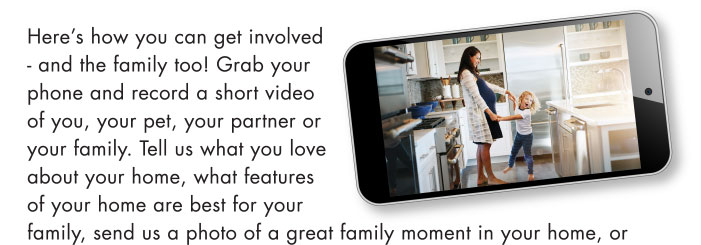 Send it via email with the subject line: #FamilyFriday entry. Your video or written question could be used in a future #FamilyFridays video and we'll be sure to keep your name private (unless you tell us otherwise).