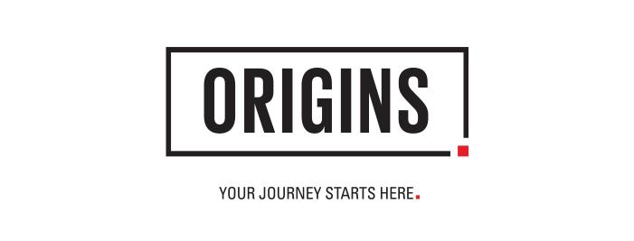 Origins Your Journey Starts Here