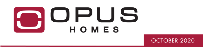 OPUS Homes October 2020 Another Nomination for OPUS Homes!