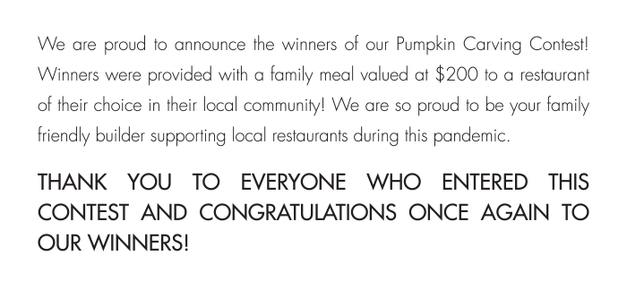 THANK YOU TO EVERYONE WHO ENTERED THIS CONTEST AND CONGRATULATIONS ONCE AGAIN TO OUR WINNERS!