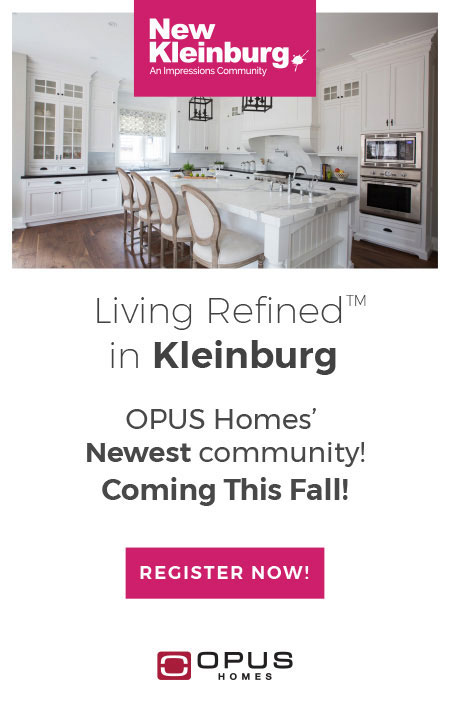 OPUS Homes Newest Community This Fall
